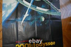 2001 A Space Odyssey Stanley Kubrick 1968 Poster Original Poster