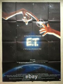 And The Extraterrestrial / Original Movie Poster 1982 Original Movie Poster