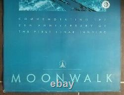 Andy Warhol Moonwalk 20th Anniversary Poster Old/original Poster 1989