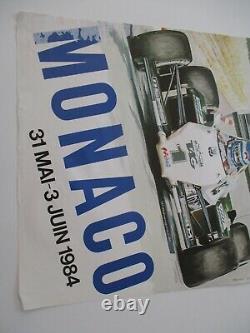 Ao954 F1 Original Shows 42nd Monaco Grand Prix 1984 Middle State