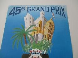 Ao955 F1 Original Shows 45th Monaco Grand Prix 28/31 May 1987 Middle State