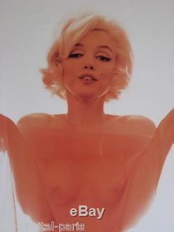 Bert Stern Marilyn Monroe Poster Produced In 1997 Fond Poligrafa Post