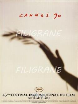 Cannes Festival 1990 Belle Original Affiche 60x80cm State Nine