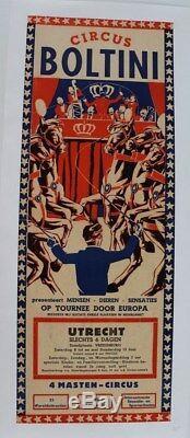 Circus Circus Original Poster Boltini Post Utrecht