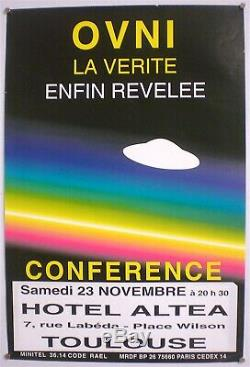 Claude Rael Celler 2 Original Posters From Very Rare 1980 Conference