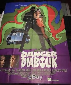 Danger Diabolik / Diabolik / Original 120x160 / Poster / Display