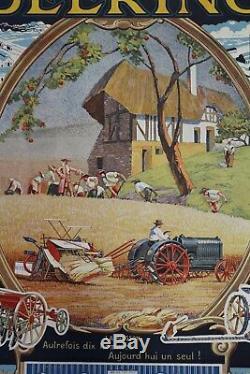 Deering Harvester 1929 Post Show Original Farm Tractor Tractor Ih