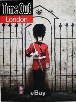 Displays Banksy Time Out London 2010 Original Artwork Post Record