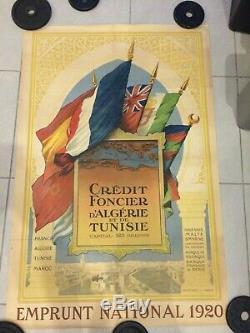 Displays Devambez 1920 Loan Algeria Tunisia Original French Post