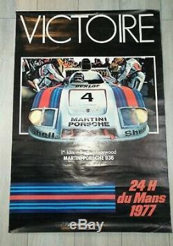 Displays Original 1977 Le Mans 24 Hours Victory