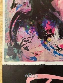 Displays Original Far East Otto Nielsen Sas Signed Vintage Post