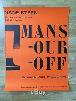 Displays Original Post Paul Mansouroff Gallery Nane Stern Paris 1973