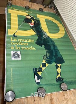 Displays Original Post Socks DD Signed Vintage Andreini Ettorino