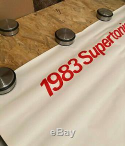 Displays Original Post Supertonique 1983 Citroen Signed R. Savignac Retro