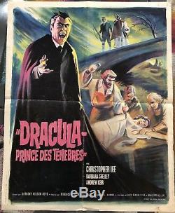Dracula Prince Of Darkness / Shows / Movies / 40x60 / Post / Original
