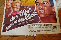 Elvis Presley Stella Stevens Girls! Girls! Girls! 1963 Poster Original Poster