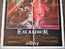 Excalibur Poster 68x104cm Us Original Post One Sheet 2741