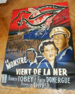 Faith Domergue It Came From Beneath The Sea 1955 Poster Affiche Original