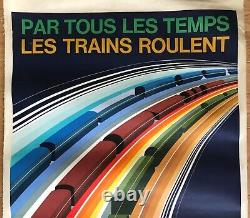Foré Original Advertising Poster Railway 1972 French Poster
