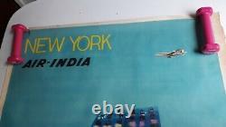Former Air India New York Original Poster