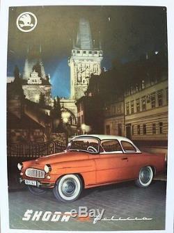 Garage Original Poster Poster Skoda Felicia 1959-64 Eská Republika Volkswagen