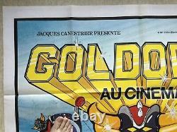 Goldorak At The Cinema (view Eo 1978) Grendizer Original Big French Movie Poster