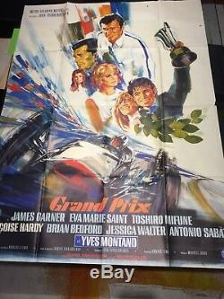 Grand Prix / Poster / Display / Original 120x160