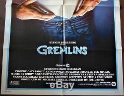 Gremlins Poster 68x104cm Us Original Post One Sheet 2741