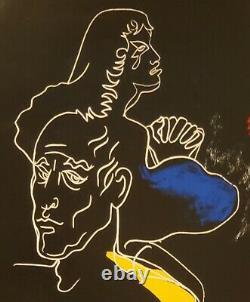 Jean Cocteau Original Poster 1993 Exhibition Paris/ Original Poster 1993