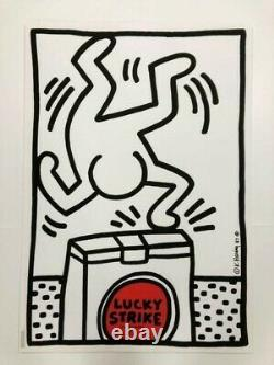Keith Haring Lucky Strike 1987 Poster
