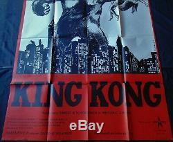King Kong Poster 120x160cm Original Post One Sheet 47 63