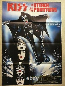 Kiss Attack Of The Phantoms (fiche Cinéma Eo 78) German Original Movie Poster