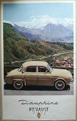 Lot Of Old/original Posters Citroen Le Mans Dauphine Doisneau