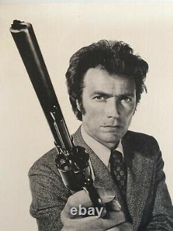 Magnum Force 1973 Clint Eastwood Affiche Original Entoile Special Poster