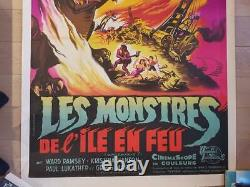 Monsters The Island On Fire Original Poster In The 120x160cm Poster 47 63