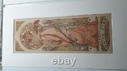 Mucha Mo-t - Chandon 1899 Original Poster Poster Old Poster