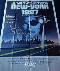 New York 1997 Poster 120x160cm Original Post One Sheet 47 63