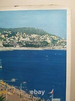 Nice Cannes Menton Riviera Cote D'azur 6 Old/original Posters
