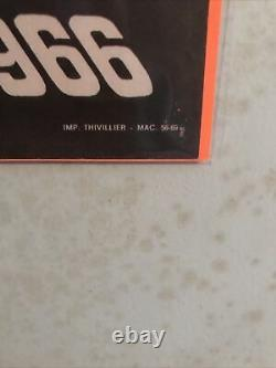 Original 24h Le Mans 1966 Poster