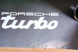 Original Porsche 911 Turbo Poster Advertising Poster 1978 Rare