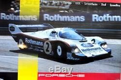 Original Porsche Shows Post 1000 Km Spa 84 Rothmans 956 Stefan Bellof