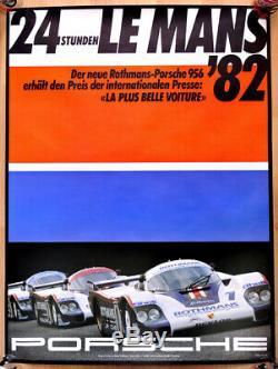 Original Post Porsche Displays Displays Mans 1982 Porsche Rothmans