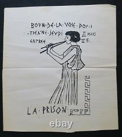 Original Poster Boom To Track Black Dominitienne Post May 1968 268