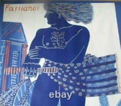 Original Poster By Fassianos Alexandre Art Lithograph Poster