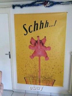 Original Poster Collection Schweppes 175cm X 120cm Original Post