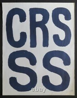 Original Poster May 68 Crs Ss Poster May 607