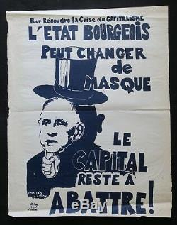 Original Poster May 68 Else Capital Breaking Marseille Post 1968 269