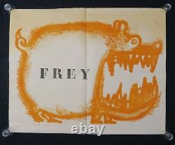 Original Poster May 68 Frey Chien Caricature Poster May 1968 063