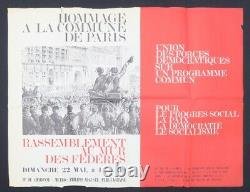 Original Poster May 68 Hommage To The Community Of Paris Poster 1968 646