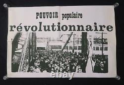 Original Poster May 68 Power Popular Revolutionnaire Poster May 1968 070